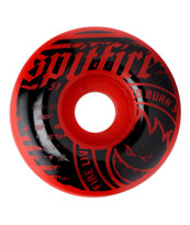 Spitfire Emblem Red & Black 51mm Skateboard Wheels