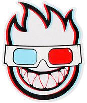 Spitfire Fireball 3D Bighead Sticker