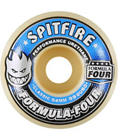 Spitfire Formula Four Classic Blue & White 54mm Skateboard Wheels