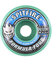 Spitfire Formula Four Mint 53mm 99a Skateboard Wheels
