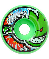 Spitfire Herman Cush Code Street Burners 53mm Skateboard Wheels