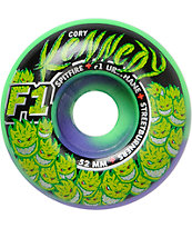 Spitfire Kennedy Trunk Kush Swirl Street Burners 52mm Skateboard Wheels
