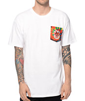 Spitfire Tie Dye Bighead Pocket T-Shirt