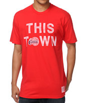 Sportiqe Clippers This Town Red Tee Shirt