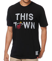 Sportiqe Heat This Town Black Tee Shirt