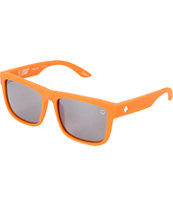 Spy Discord Matte Orange Happy Lens Polarized Sunglasses