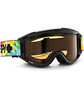 Spy Getaway Tie Dye Snowboard Goggles