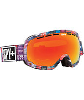 Spy Marshall Volume 11 & Red Spectrum 2014 Snowboard Goggle