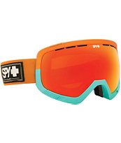 Spy Platoon Sunset Beach & Red Spectra 2014 Snowboard Goggles