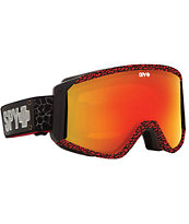 Spy Raider Stevie Bell Crackle Pattern 2014 Snowboard Goggle