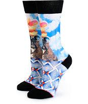 Stance Baby Queen Pam Napkin Apocalypse Crew Socks