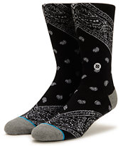 Stance Barrio Black Crew Socks