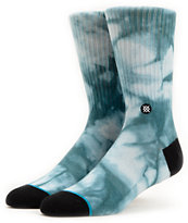 Stance Burnout Blue Crew Socks