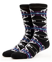 Stance Chris Cole Black & Purple Pro Model Crew Socks