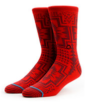 Stance Clovis Red Socks