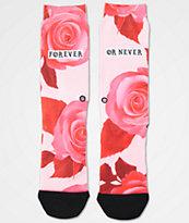 Stance Dedication Pink Tomboy Lite Crew Socks