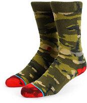 Stance Dunn Camo Tie Dye Crew Socks