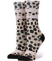 Stance Feline Leopard Print Classic Crew Socks
