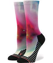 Stance Flortex Fusion Tie Dye Athletic Crew Socks