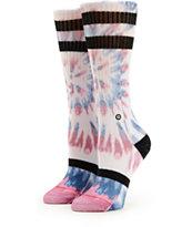 Stance Freedom Fire Tie Dye Crew Socks