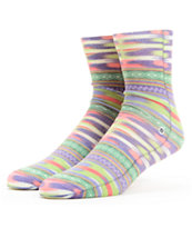 Stance Girls Crazy Eights Native Pattern Ankle Socks