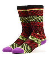 Stance Girls Vortex Multi Colored Crew Socks