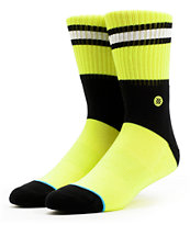 Stance Light Bright Lime Green Crew Socks