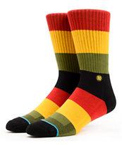 Stance Maytal Rasta Stripe Crew Socks