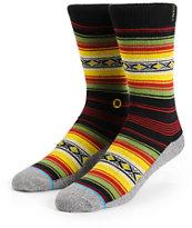 Stance Montego Rasta Blanket Crew Socks