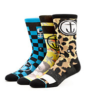 Stance Murdock Mix Pack Crew Socks