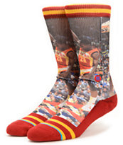 Stance NBA Dominique Wilkins Crew Socks