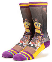 Stance NBA James Worthy Crew Socks