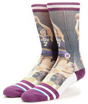Stance NBA Pistol Pete Crew Socks
