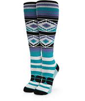 Stance Neon Navajo Snowboard Socks