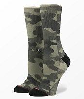Stance Outta Sight Camo Classic Crew Socks