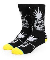 Stance Pineapple Demon Crew Socks