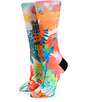 Stance Snowball Cockatoo Tropical Sublimated Crew Socks