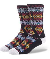 Stance Sunchild Black Crew Socks