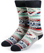 Stance Thunderhead Tribal Crew Socks