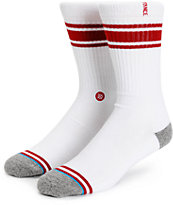 Stance White Out Crew Socks