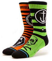 Stance x Captain Fin Grim Crew Socks