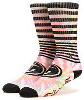 Stance x Captain Fin Tie Dye Crew Socks