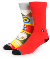 Stance x Chocolate Flags Crew Socks