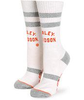 Stance x Harley Davidson Natural Crew Socks