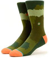 Stance x Poler Firry Camo Crew Socks