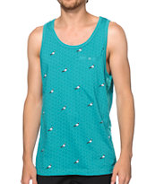 Staple All Over Pigeon Pocket Tank Top