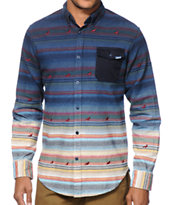 Staple Andres Pigeon Dip Button Up Shirt