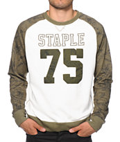 Staple Brooks Raglan Crew Neck Sweatshirt