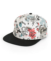 Staple City Doves Snapback Hat