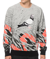 Staple Lava Pigeon Crew Neck Sweatshirt